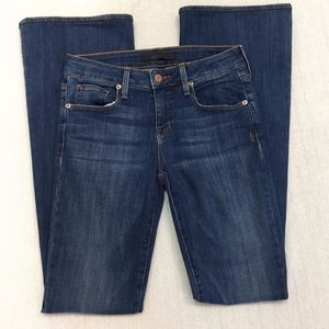 GENETIC Fit & Flare LEAF Jeans